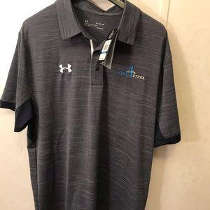 Men's Under Armor HEATGEAR  XL Polo Shirt
